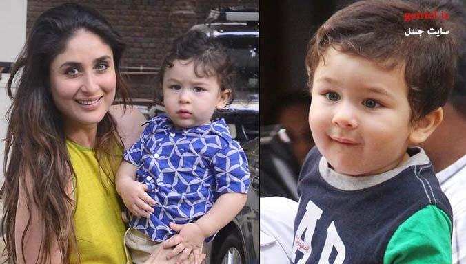 عکس های کارینا کاپور و پسرش